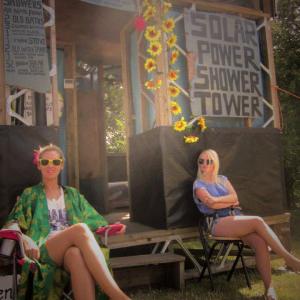 wilderness festival crew solar shower