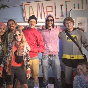 glastonbury festival camplight crew