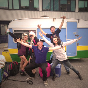 Bestival camp crew